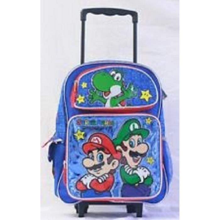 Cartable a roulettes trolley super mario kart 7 dania casino