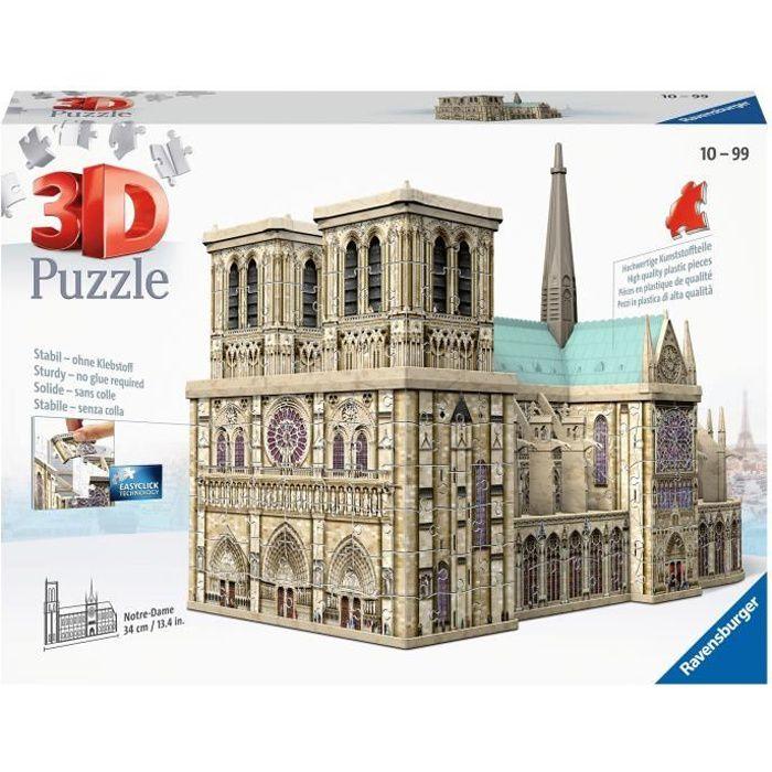 PUZZLE RAVENSBURGER Puzzle 3D Notre-Dame de Paris 216 pcs