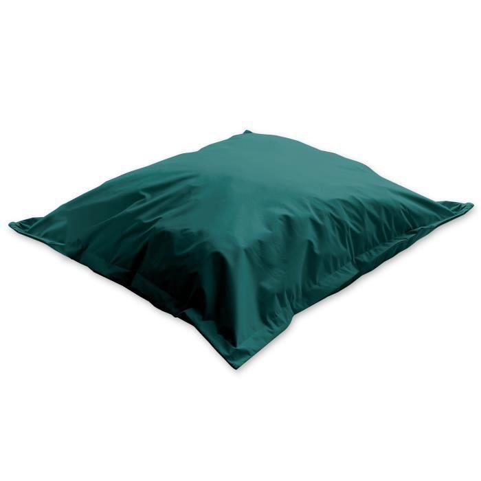 POUF - POIRE TODAY Pouf XL 100% polyester LAKE - 110x110cm Vert
