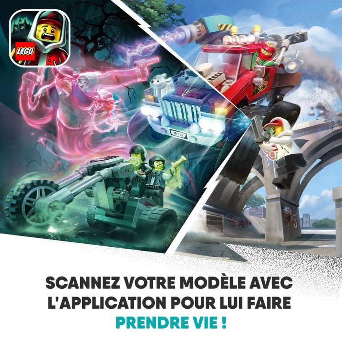 Jeux et Jouets 32 Pièces 32 LEGO® Hidden Side Le train fantôme ...