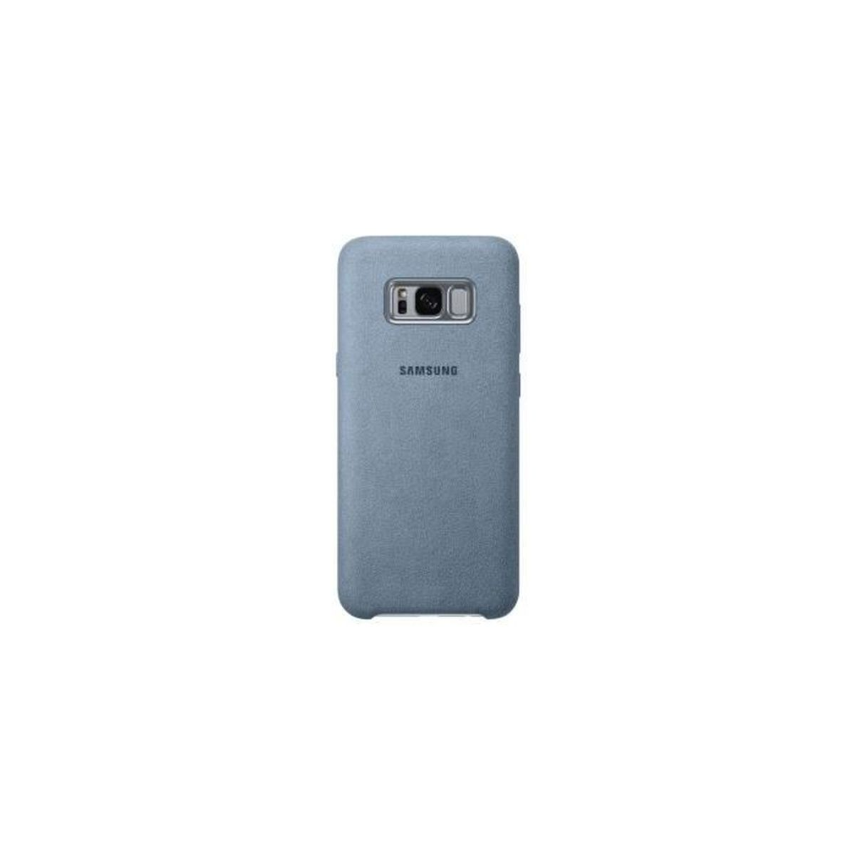 coque samsung galaxy s8 plus cuir alcantara mint officielle ef