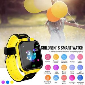 MONTRE CONNECTÉE MONTRE INTELLIGENTE  Enfants LBS Locator Tracker S