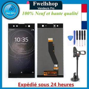 ECRAN DE TÉLÉPHONE Noir Ecran Tactile Vitre Lcd + Outils Pour Sony Xp