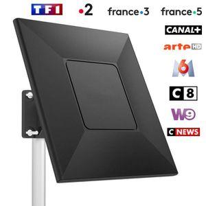 ANTENNE RATEAU Antenne TNT Extérieure Antenne TV extérieure-intér