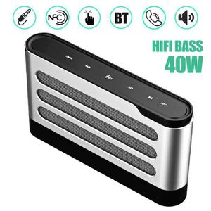 ENCEINTE NOMADE NEUFU Enceinte Bluetooth CSR 40W NFC Tactile Sans
