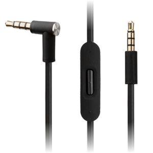 CASQUE - ÉCOUTEURS Remplacement Noir Câble audio pour Beats by Dr Dre