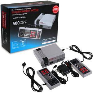 CONSOLE RÉTRO Mini Rétro TV Console de jeu NES 8Bit Classic 500
