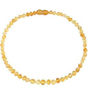 COLLIER AMBRE collier d ambre(Lemon)(33cm) - Forfait simple