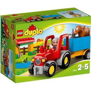 ASSEMBLAGE CONSTRUCTION LEGO® DUPLO 10524 Le Tracteur de la Ferme
