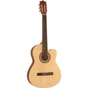 GUITARE Guitare Électro-Classique Nature Cordes D'addario