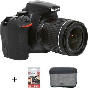 APPAREIL PHOTO RÉFLEX Appareil photo Reflex Nikon D3500+18-55VR+Sac+16Go