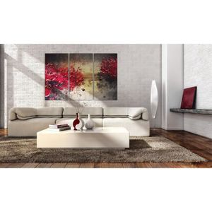 TABLEAU - TOILE Tableau Abstraction Style taille 60x40 Splash roug
