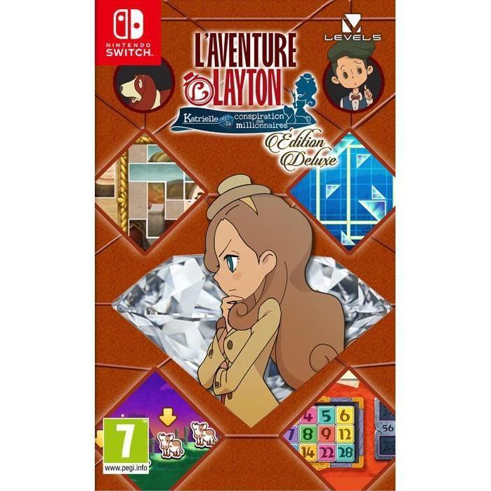 JEU NINTENDO SWITCH L'Aventure Layton - Edition Deluxe Jeu Switch