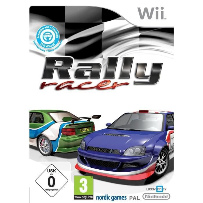 rally racer jeu console wii achat vente jeux wii rally racer jeu console wii soldes. Black Bedroom Furniture Sets. Home Design Ideas