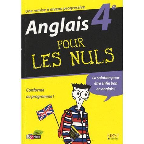 Anglais 4e Achat Vente Livre Francoise Cucherat Editions Generales First Parution 18 06 2010 Pas Cher Cdiscount