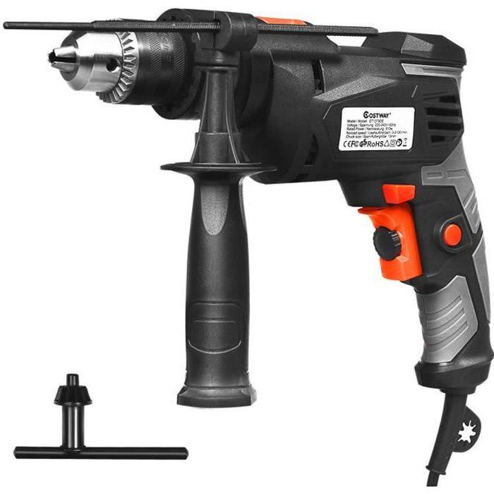 Sealey SA27 air drill 13mm 700rpm réversible mandrin