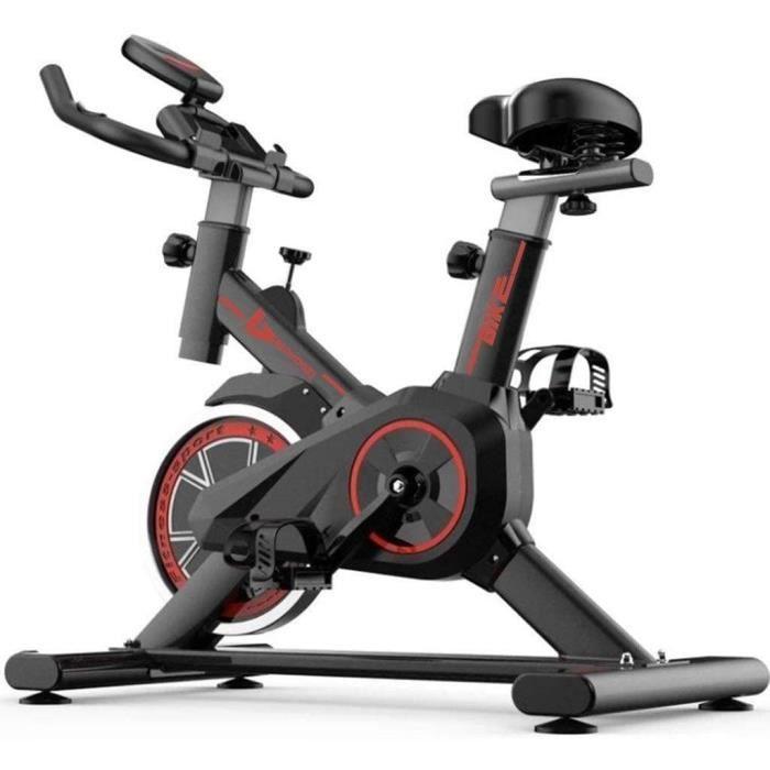 Vélos d'appartement Velo Spinning Biking Stepper Noir De Perte De Poids De Ménage Vélo De Sport Silencieux De Salon Équipement [108]