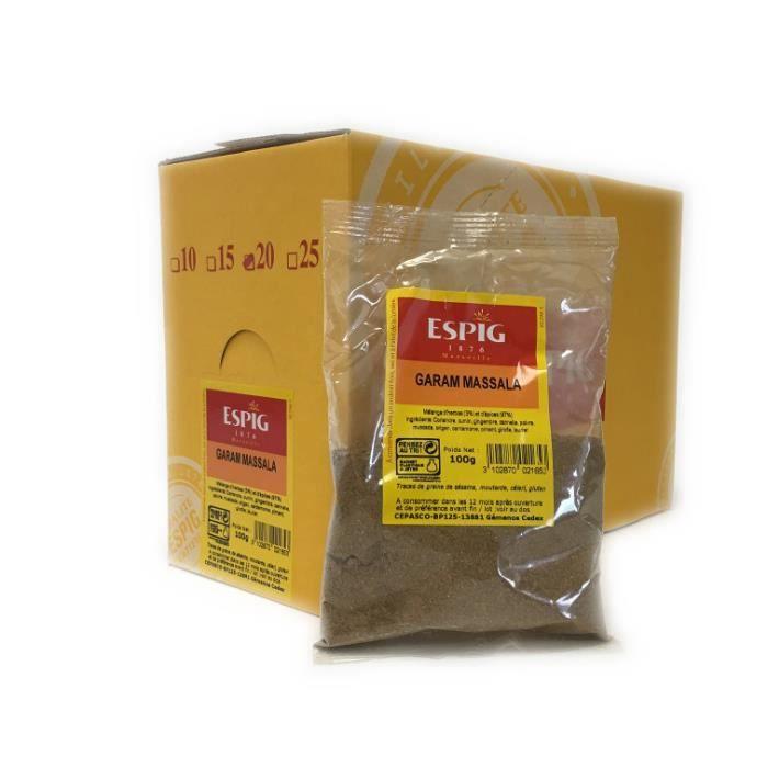 Espig, Garam Massala, 15 x 100 gr