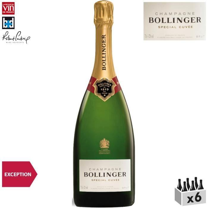 Bollinger Champagne Special Cuvée Blanc x6