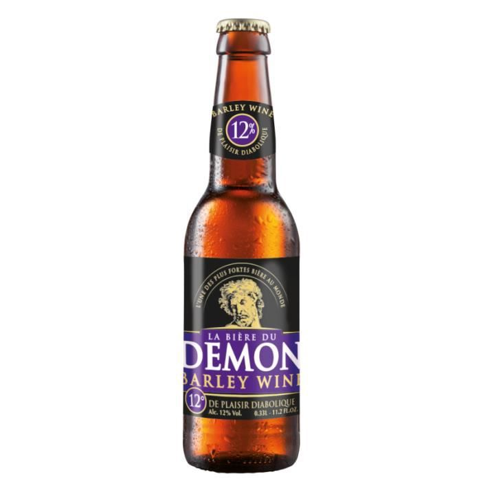 BIERE - LA DEMON BARLEY WINE 33CL