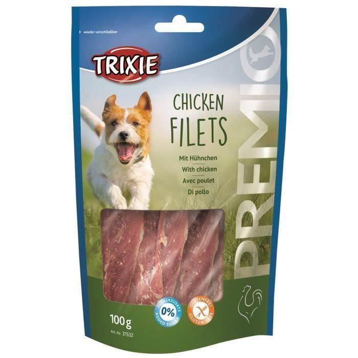 TRIXIE Chicken Filets Premio - 3 x 100 g