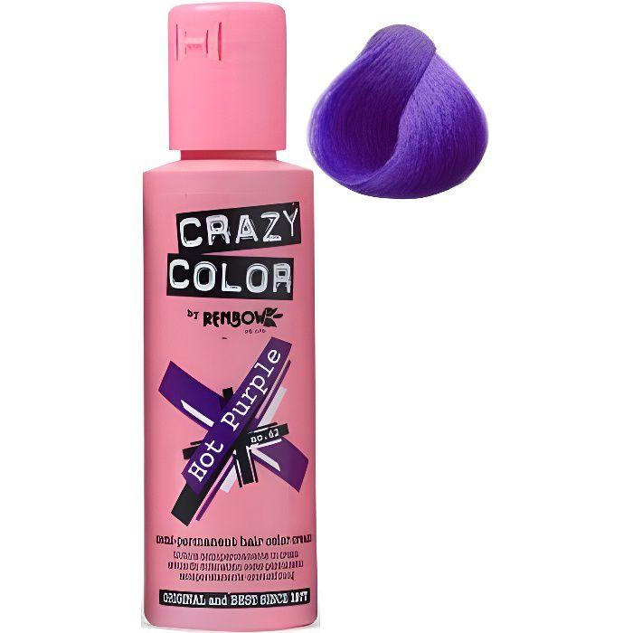 Renbow Coloration semi-permanente 62 - Hot Purple , 100ml
