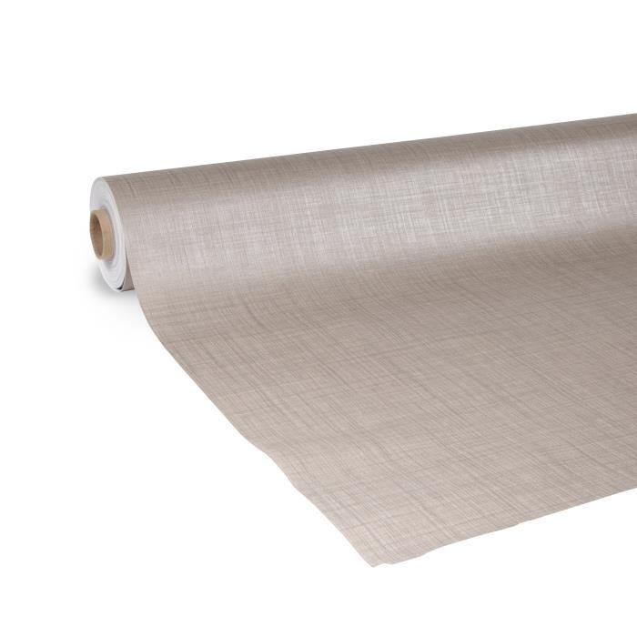 nappe de table Sharon gris 140 x 180 cm uni D-C-FIX