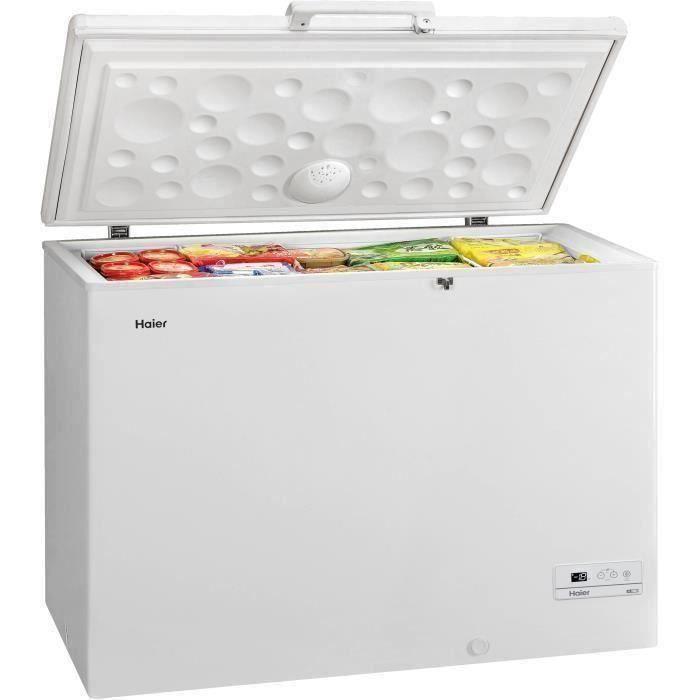 HAIER HCE319F - Congélateur coffre - 310L - Froid statique - L110 x H84,5 cm - Blanc
