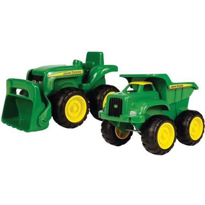 JOHN DEERE Camion Benne et Tracteur