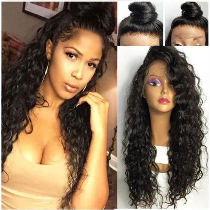 JSPOIR MELODIZ Perruque bresilienne lace front wig deep wave - 24-