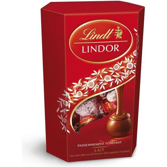 Chocolat Lindor lait 0.2 Lindt
