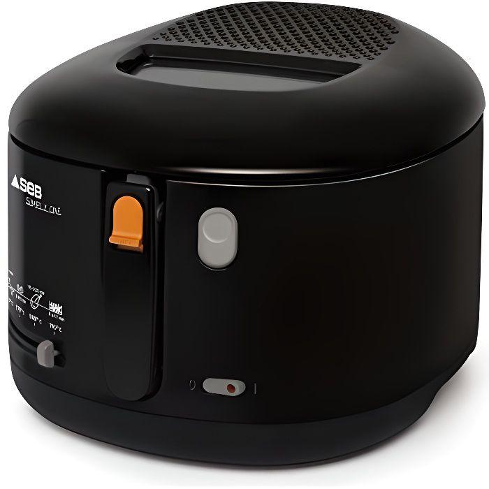 Seb FF160800 Simply One Friteuse Compacte avec Thermostat Noir FF160800