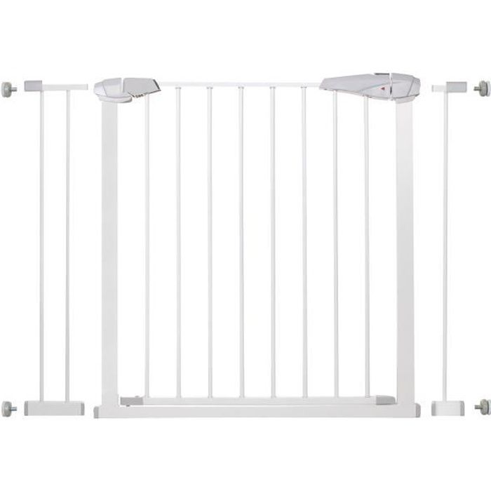 SPRINGOS® Barrière de Sécurité Bébé, Enfant pour Escaliers, Portes 76-106 cm