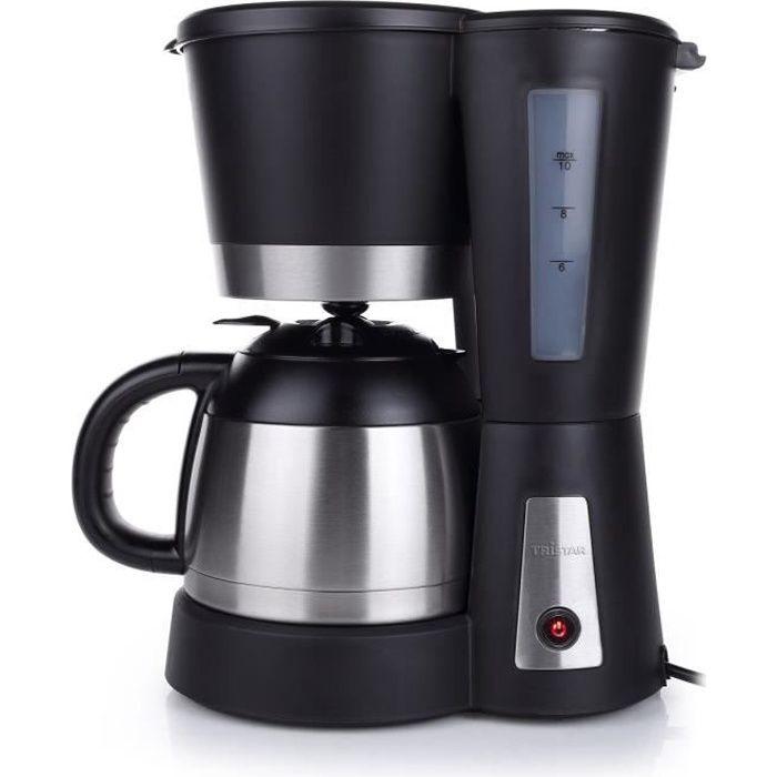 TRISTAR CM-1234 Cafetière filtre avec verseuse isotherme - Noir