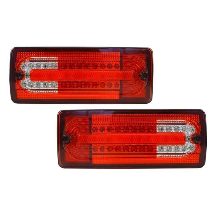 MERCEDES BENZ W203 2000-2007 queue tiers Arrière Rouge LED lumière de frein saloon