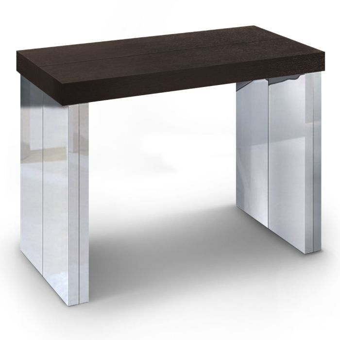 table console goa bois wenge achat vente console table console goa bois wenge cdiscount. Black Bedroom Furniture Sets. Home Design Ideas