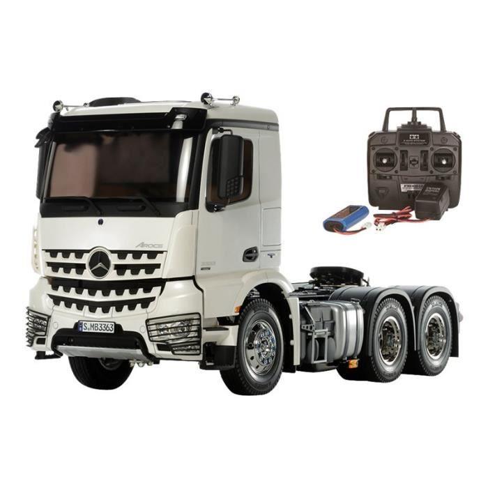 L/éclairage du camion dorigine GTPOWER Container et Vibration System voix pour Tamiya Rc4wd Tracteur RC Truck