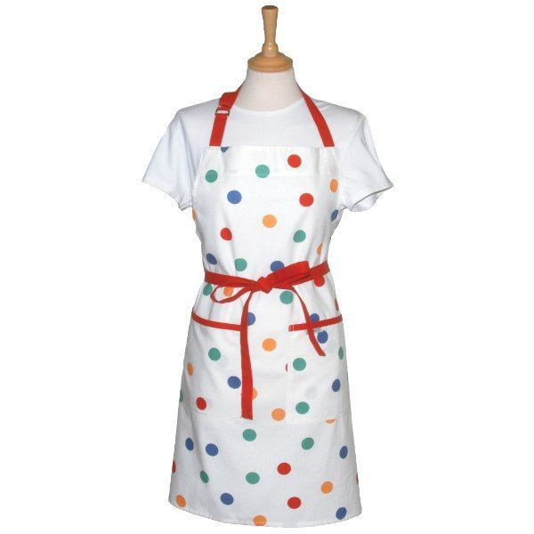 Tablier de cuisine multicolore spotty achat vente for Tablier de cuisine plastifie