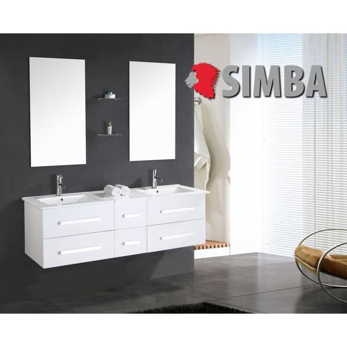 meuble salle de bain double vasque luxe beau meuble double vasque 150 cm wr rapide et gratuite. Black Bedroom Furniture Sets. Home Design Ideas