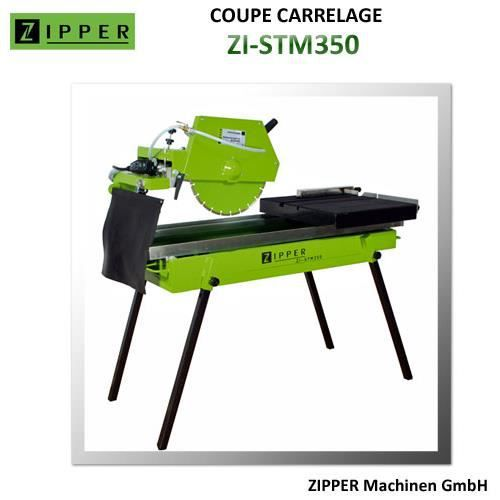 Coupe carrelage zipper zi stm350 achat vente coupe for Coupe carrelage