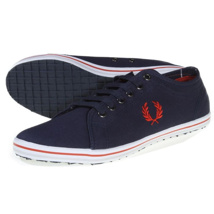 chaussure fred perry kingston tw bleu bleu achat vente basket cdiscount. Black Bedroom Furniture Sets. Home Design Ideas
