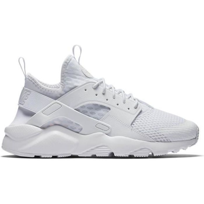 Basket NIKE AIR HUARACHE RUN ULTRA BR , Age , ADULTE, Couleur , BLANC, Genre , HOMME