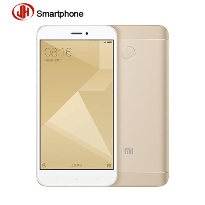 xiaomi redmi 4x or 16 go smartphone d bloqu achat smartphone pas cher avis et meilleur prix. Black Bedroom Furniture Sets. Home Design Ideas