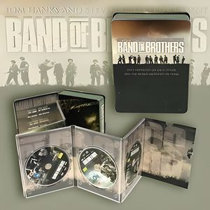 DVD SÉRIE BAND OF BROTHERS, coffret 6 DVD, Collector Boîtier