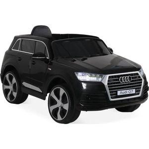 VOITURE ELECTRIQUE ENFANT AUDI Q7 Noir, voiture électrique 12V, 1 place, 4x4