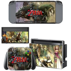 STICKER - SKIN CONSOLE Legend of Zelda Wolf Autocollants de Skins de viny