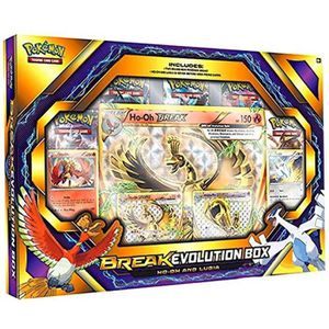 CARTE A COLLECTIONNER Pokemon - Break Evolution Box : Ho-Oh And Lugia -