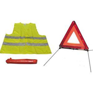 KIT DE SÉCURITÉ Kit de sécurité routière triangle de sécurité + gi
