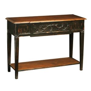 console en bois vieilli achat vente console en bois. Black Bedroom Furniture Sets. Home Design Ideas