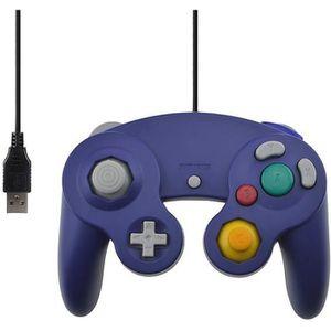 PACK ACCESSOIRE Pour Gamecube PC Contrôleur USB filaire Joypad Joy